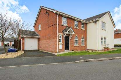 3 Bedrooms Semi Detached House for sale in Silversmith Row, Lytham St. Annes, Lancashire, England, FY8