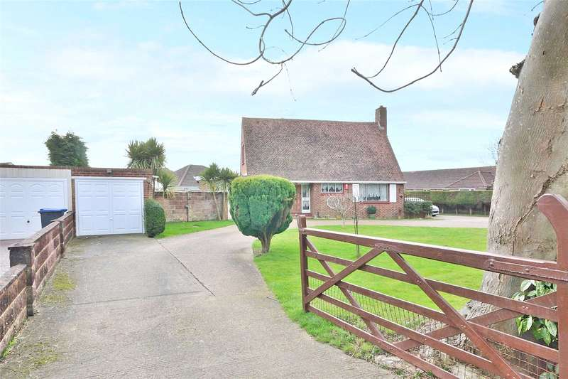 3 Bedrooms Detached House for sale in Old Shoreham Road, Lancing, West Sussex, BN15