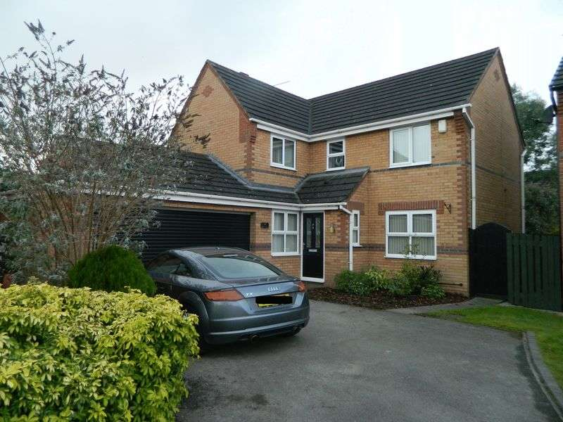 4 Bedrooms Detached House for sale in Byron Close Ettiley Heath Sandbach
