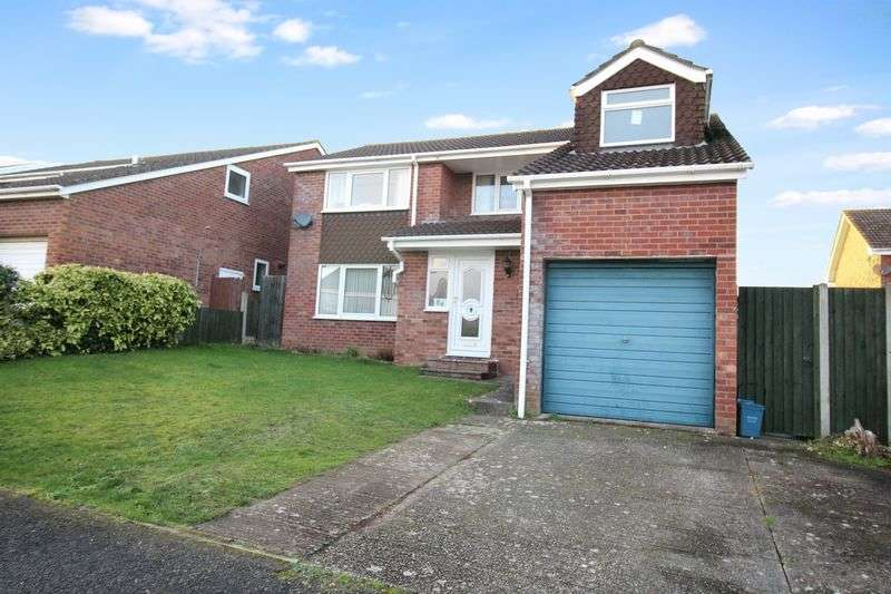 4 Bedrooms Detached House for sale in Taff Road, Caldicot