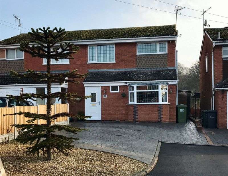 3 Bedrooms Semi Detached House for sale in Prior Close, Kidderminster DY10 3YR