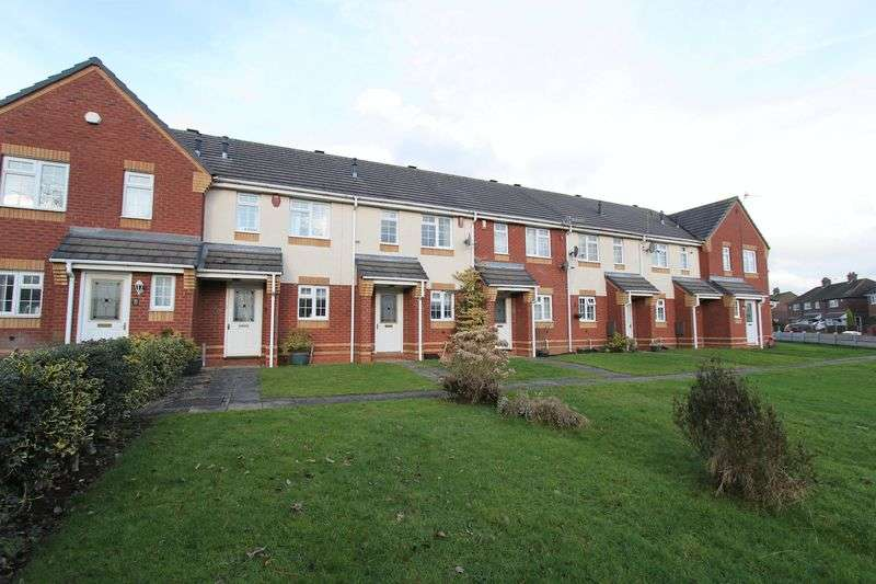 2 Bedrooms Terraced House for sale in Chatterley Close, Bradwell, Newcastle