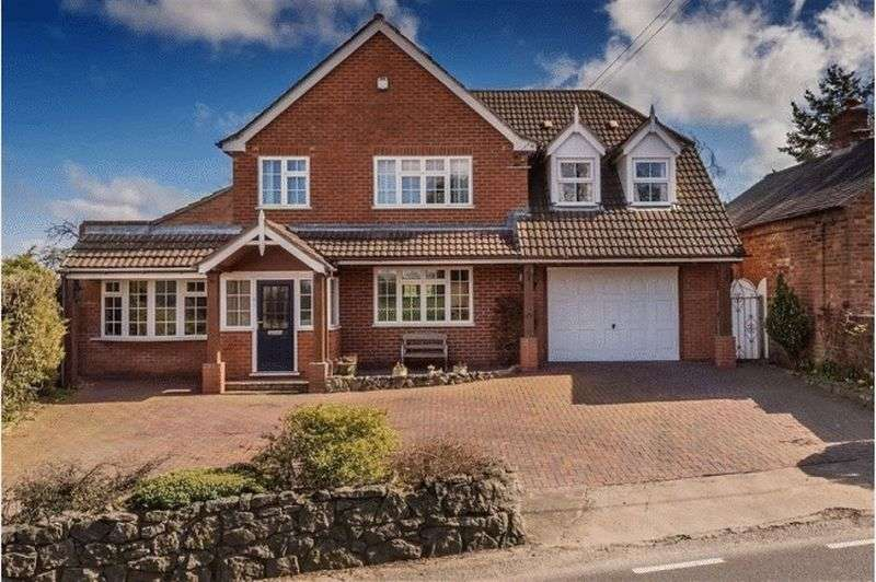 4 Bedrooms Detached House for sale in Harley Road, Cressage, Shrewsbury