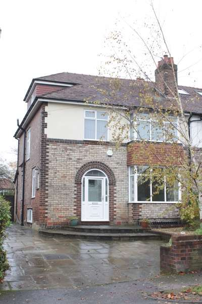4 Bedrooms Semi Detached House for sale in ALSTEAD AVENUE, HALE, ALTRINCHAM, Greater Manchester, WA15