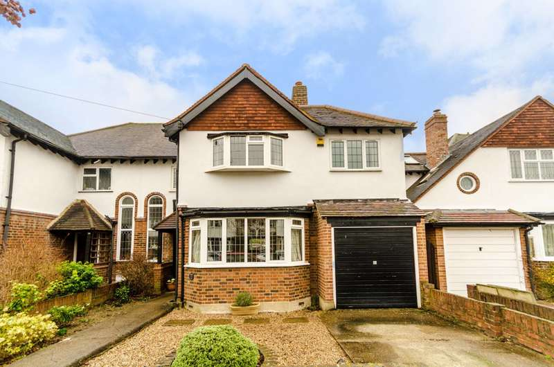 4 Bedrooms Semi Detached House for sale in Overdale Avenue, New Malden, KT3