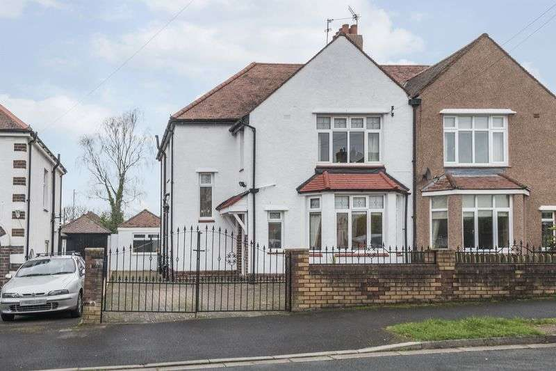 4 Bedrooms Semi Detached House for sale in Groves Road, Newport