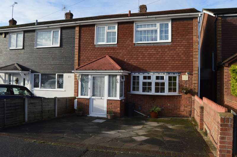 3 Bedrooms End Of Terrace House for sale in Udall Gardens, Collier Row