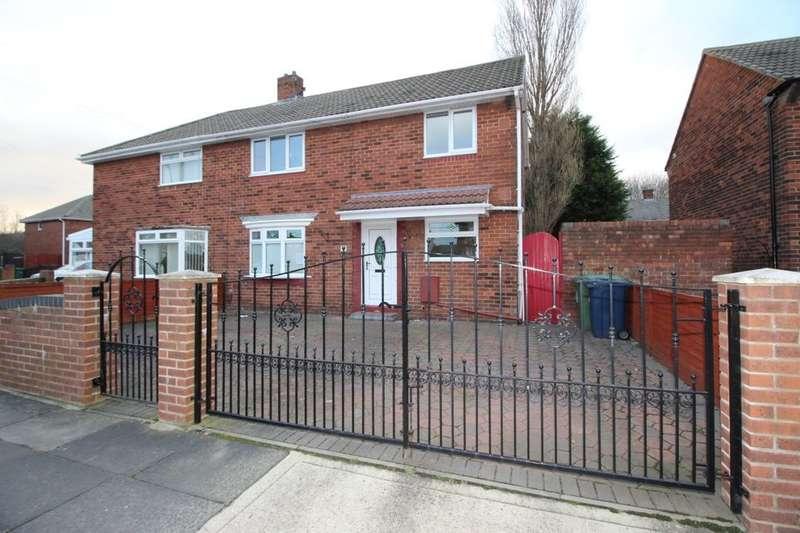 3 Bedrooms Semi Detached House for sale in Cullercoats Road, Hylton Castle, Sunderland, SR5