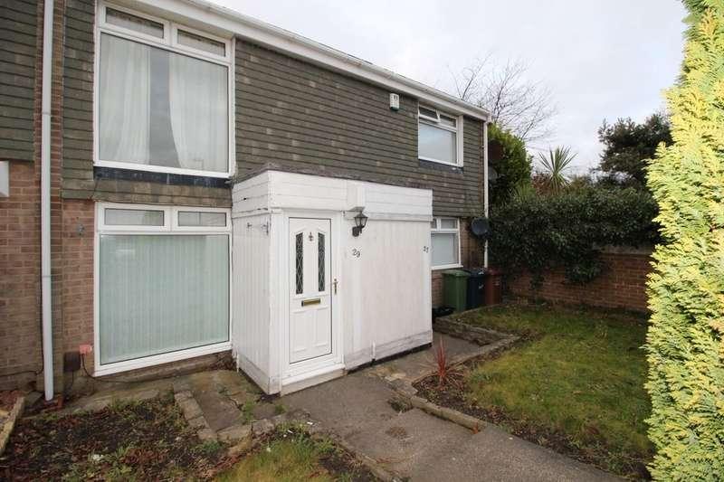 2 Bedrooms Flat for sale in Merrion Close, Moorside, Sunderland, SR3