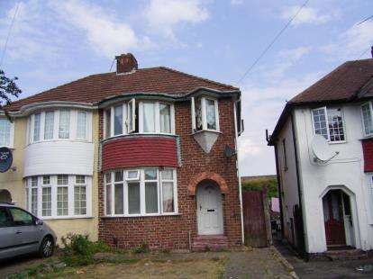 3 Bedrooms Semi Detached House for sale in Glenpark Road, Birmingham, West Midlands