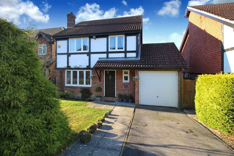 4 Bedrooms Detached House for sale in Foxleigh Chase, Horsham