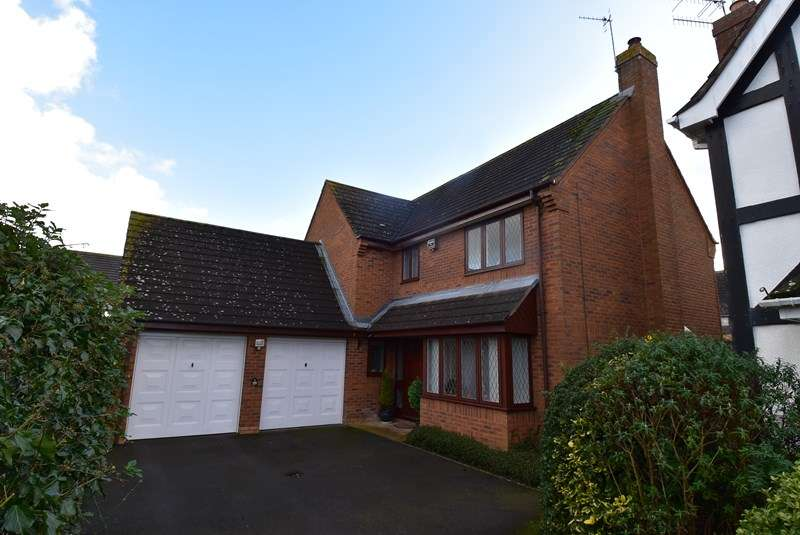 4 Bedrooms Detached House for sale in Showell Close, Droitwich