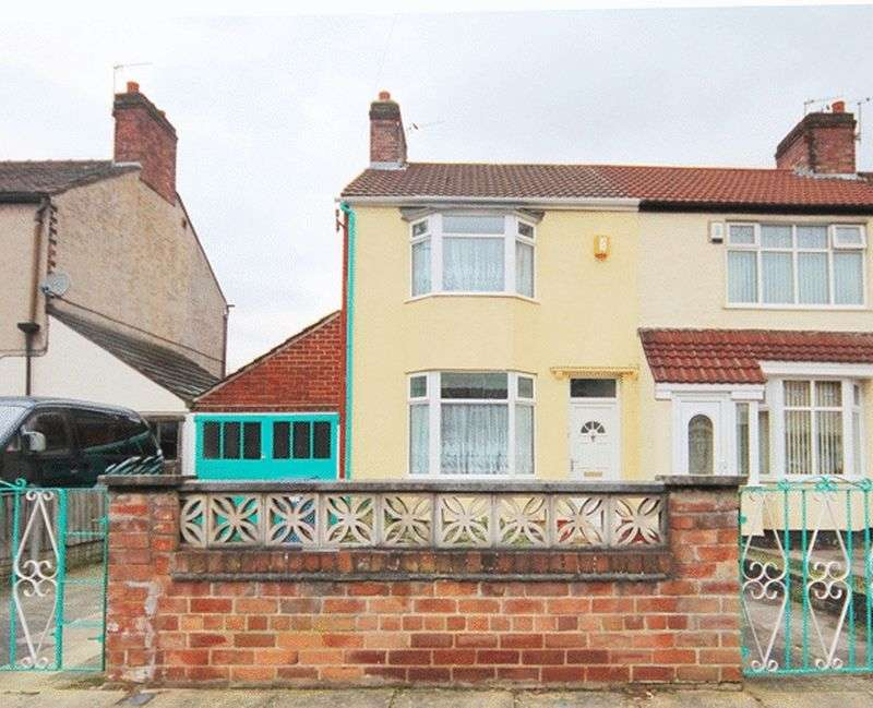 3 Bedrooms Terraced House for sale in Max Road, Dovecot, Liverpool, L14
