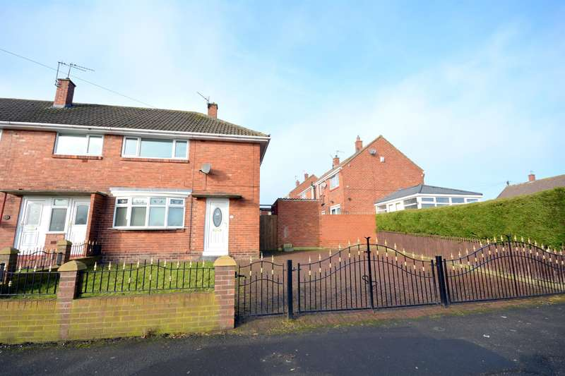 2 Bedrooms Semi Detached House for sale in Proudfoot Drive, Bishop Auckland, DL14 6NX