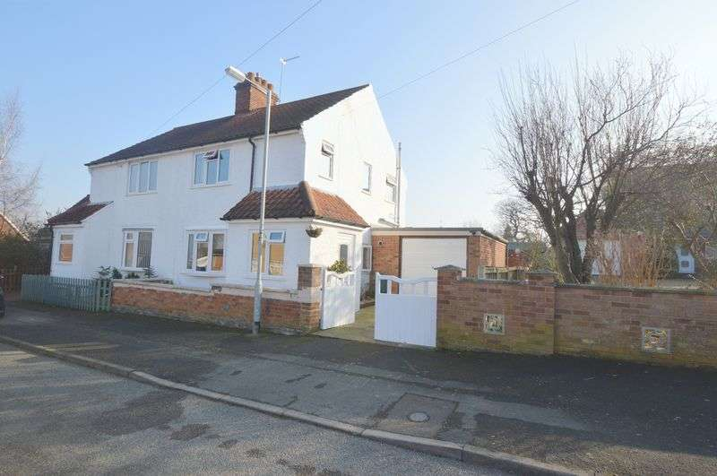 2 Bedrooms Semi Detached House for sale in Hill Road, New Costessey, Norwich