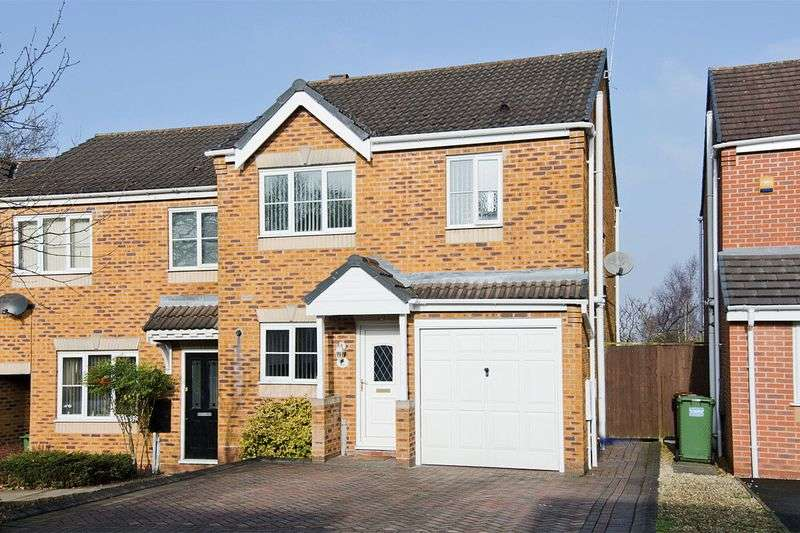 3 Bedrooms Semi Detached House for sale in Fremantle Drive, Wimblebury, Heath Hayes