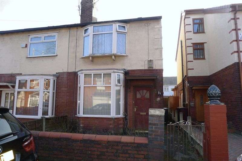 3 Bedrooms Semi Detached House for sale in Westbourne Avenue, Bolton