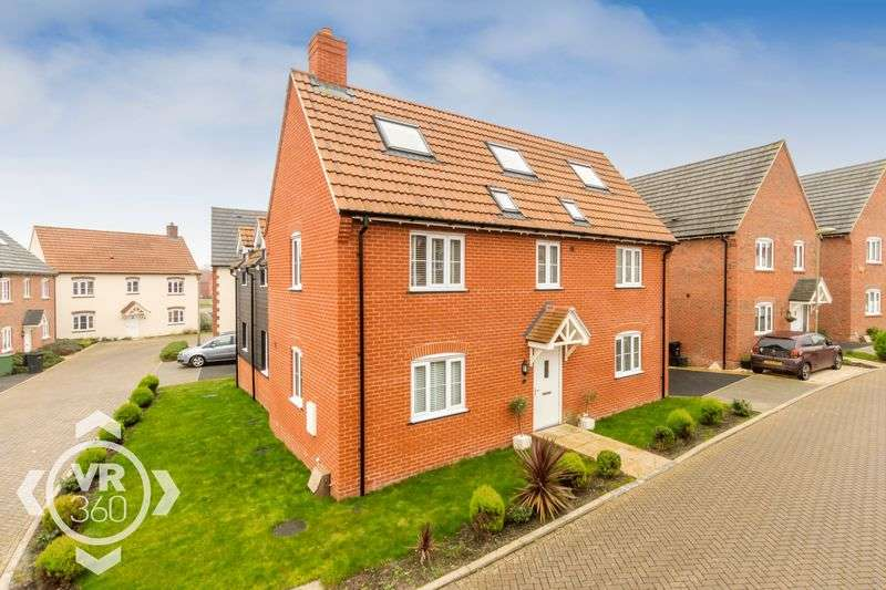 5 Bedrooms Detached House for sale in Kingfisher Drive, Didcot