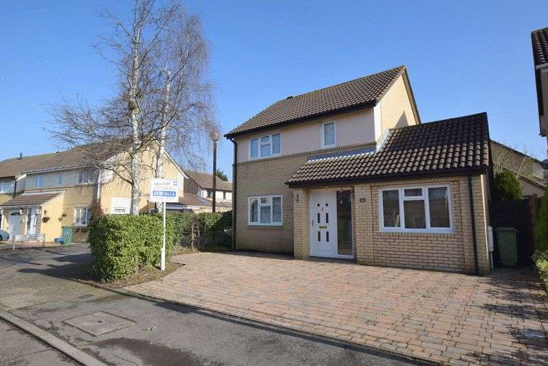 3 Bedrooms Detached House for sale in Arlott Crescent, Oldbrook, Milton Keynes