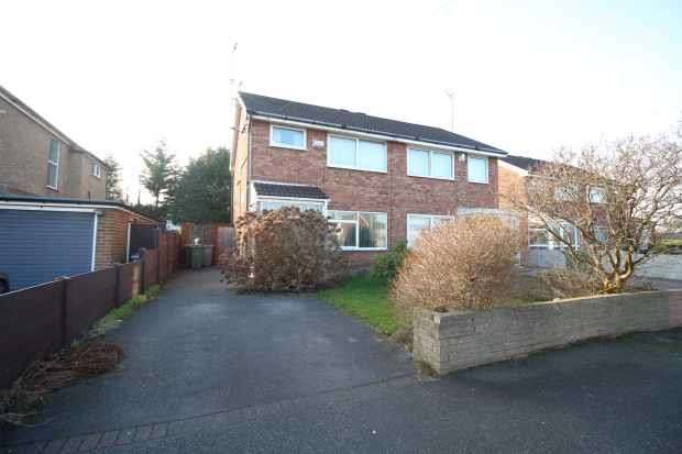 3 Bedrooms Semi Detached House for sale in Brookside Crescent, Wirral, Merseyside, CH49 4LE