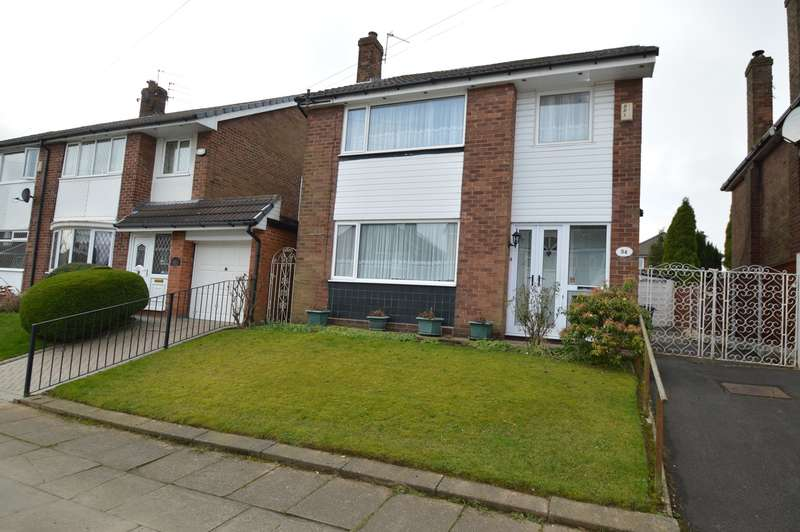 3 Bedrooms Detached House for sale in Ennerdale Drive, Unsworth, Bury, BL9