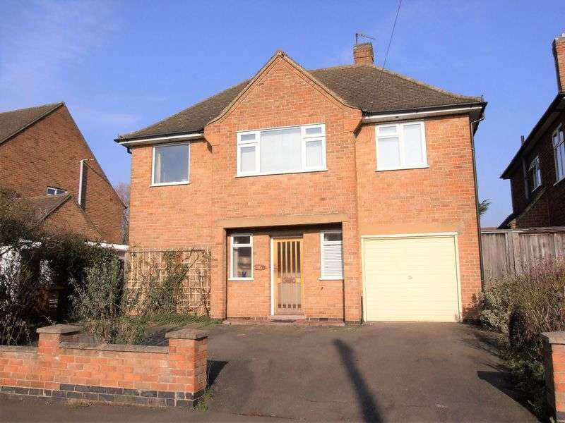 4 Bedrooms Detached House for sale in Hill Top Road, Loughborough
