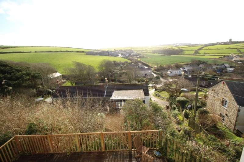 4 Bedrooms Detached House for sale in Tregeseal Hill, St. Just, Penzance, TR19