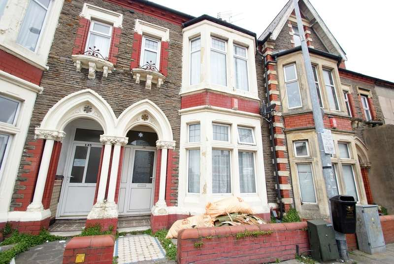 4 Bedrooms Terraced House for sale in Albany Road, Roath
