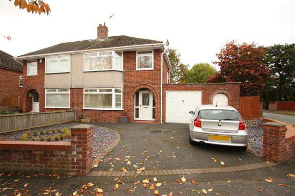 3 Bedrooms Semi Detached House for sale in Maple Grove, Ellesmere Port