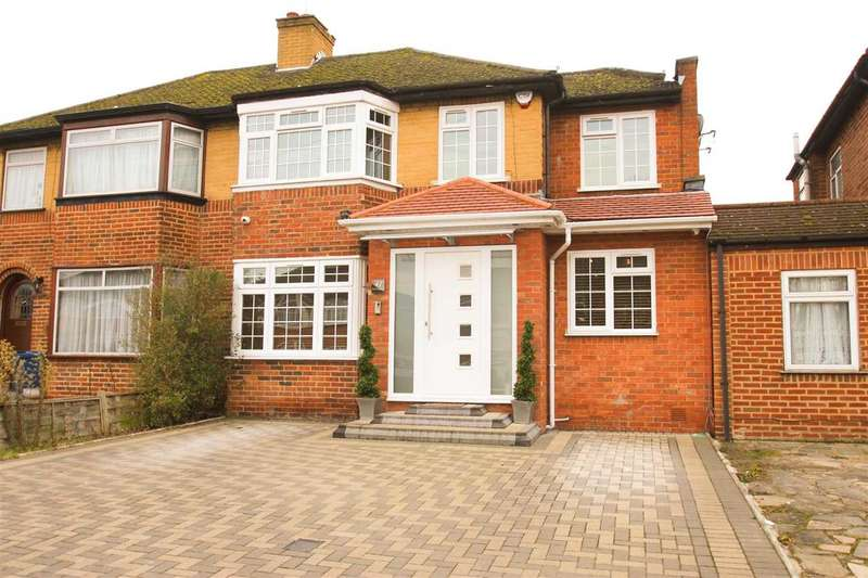 4 Bedrooms Semi Detached House for sale in Wetheral Drive, STANMORE