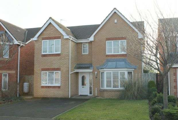 4 Bedrooms Detached House for sale in Allerston Way, Guisborough