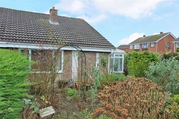 2 Bedrooms Semi Detached Bungalow for sale in Forester Road, Broseley, Shropshire