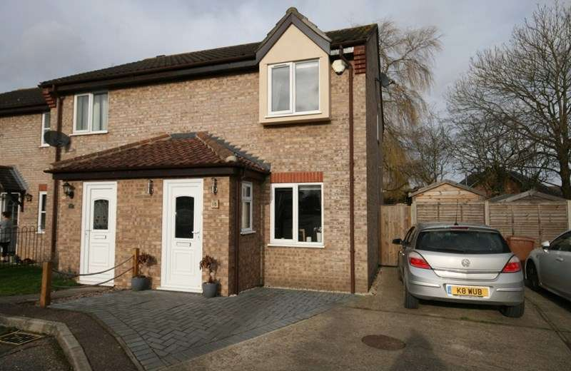 2 Bedrooms End Of Terrace House for sale in Keeling Way, Attleborough