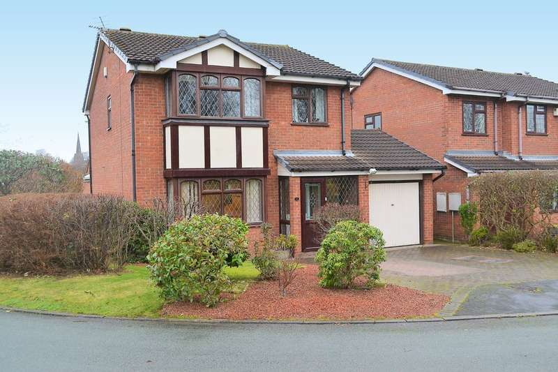 4 Bedrooms Detached House for sale in Newlyn Close, Lichfield