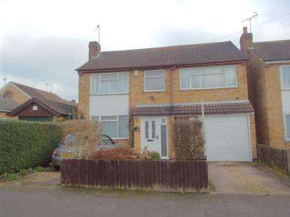 5 Bedrooms Detached House for sale in Brixham Drive, Wigston, Leicester, Leicestershire