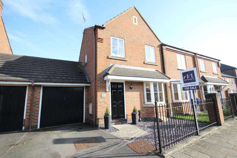 3 Bedrooms End Of Terrace House for sale in Great Meadow Way, Fairford Leys