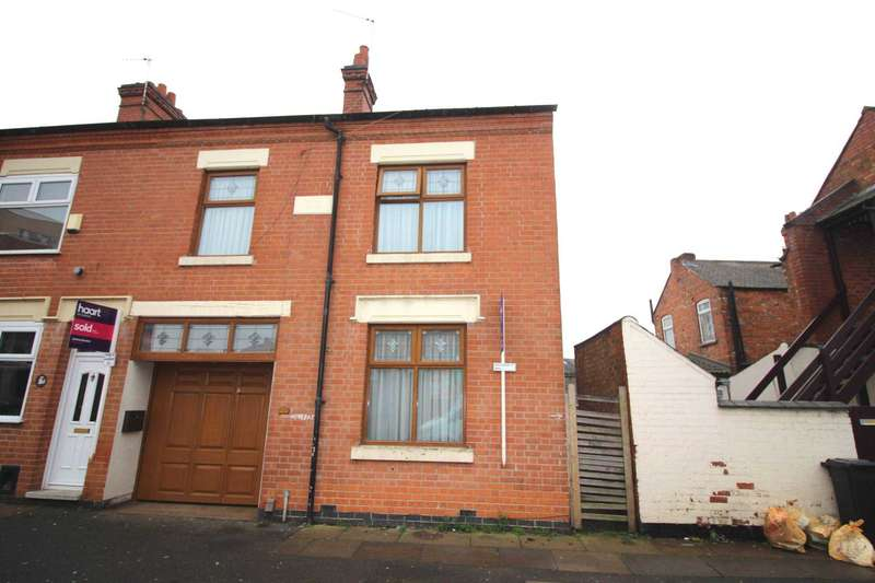 4 Bedrooms End Of Terrace House for sale in Woodland Road, Leicester