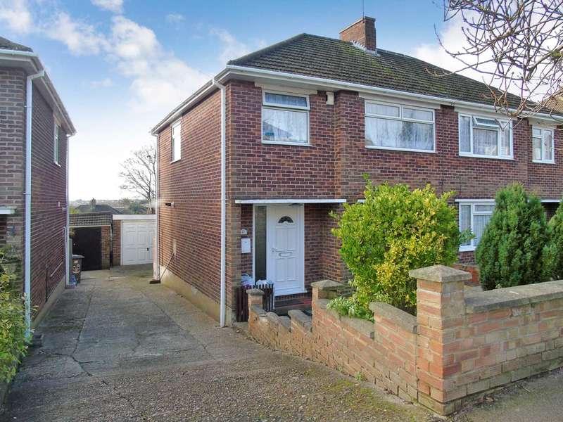 3 Bedrooms Semi Detached House for sale in Grampian Way, Luton