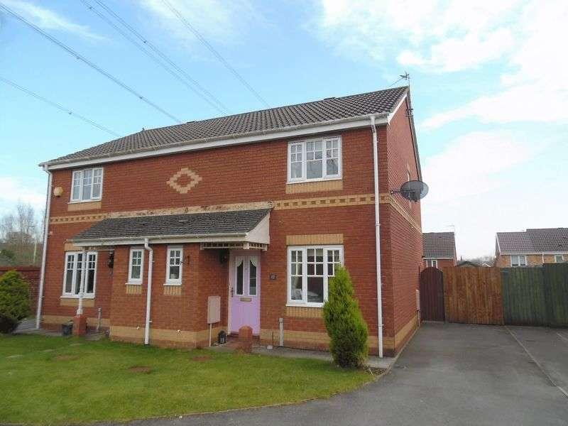 3 Bedrooms Semi Detached House for sale in Banc Gwyn Broadlands Bridgend CF31 5DJ
