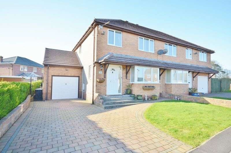 3 Bedrooms Semi Detached House for sale in Rheda Close, Frizington