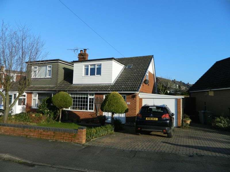 3 Bedrooms Semi Detached Bungalow for sale in Princess Drive, Sandbach
