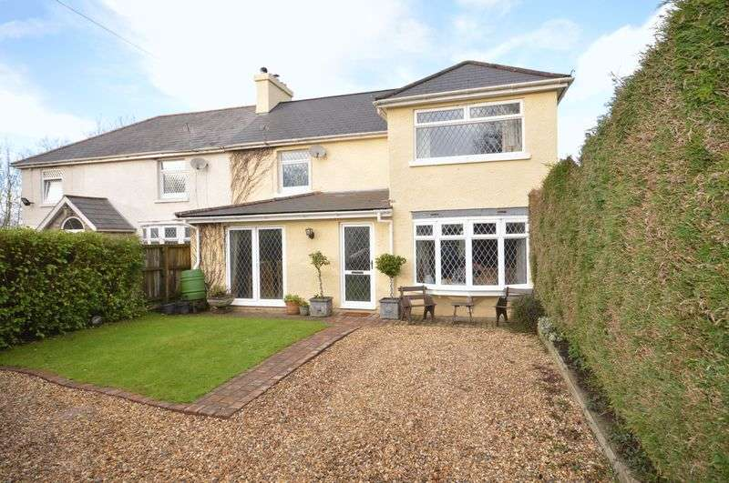 4 Bedrooms Semi Detached House for sale in Fairview House, St Hilary, Nr. Cowbridge, Vale of Glamorgan, CF71 7DR