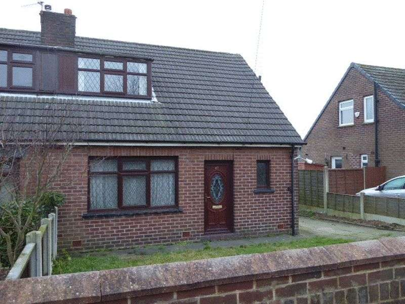 2 Bedrooms Semi Detached Bungalow for sale in Sandbrook Road, Wigan