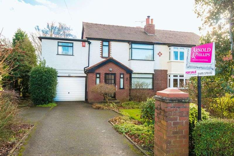 4 Bedrooms Semi Detached House for sale in County Road, Ormskirk