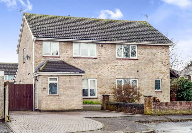 3 Bedrooms Semi Detached House for sale in Avondale Gardens, Cardiff