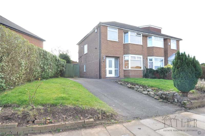 3 Bedrooms Semi Detached House for sale in Lloyd Drive, Greasby, Wirral