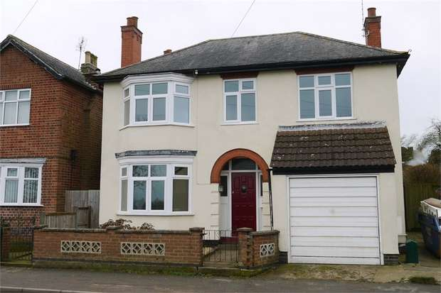 3 Bedrooms Detached House for sale in Leicester Road, Fleckney, Leicestershire