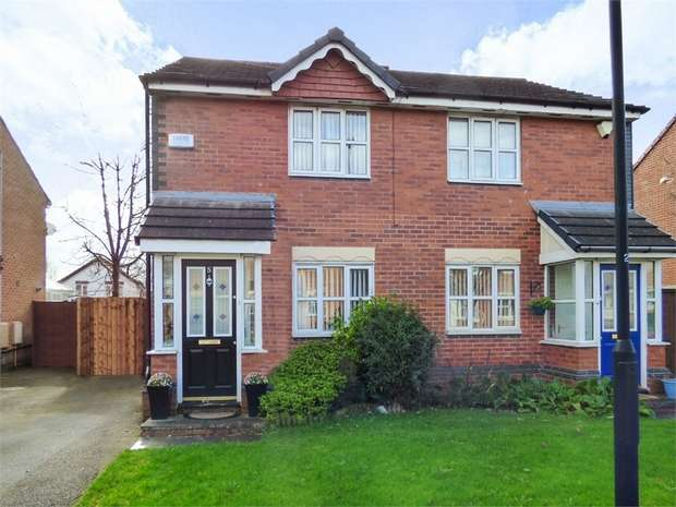 2 Bedrooms Semi Detached House for sale in Larkin Close, Wirral, Merseyside