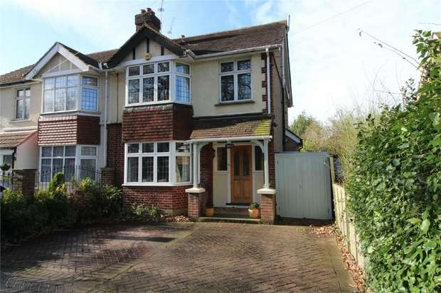 4 Bedrooms Semi Detached House for sale in Ashford Road, Laleham, Staines-upon-Thames, Surrey