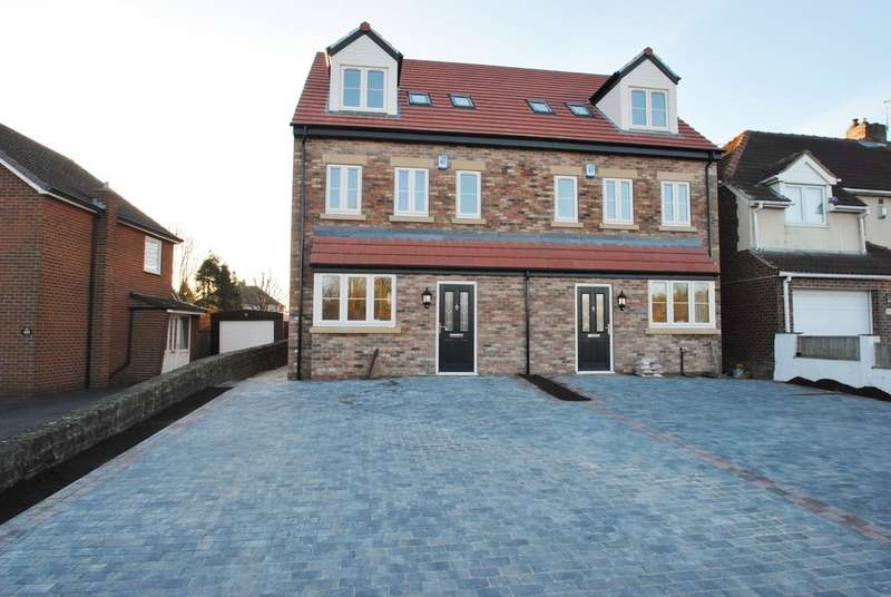 4 Bedrooms Semi Detached House for sale in Bawtry Road, Hellaby, Rotherham